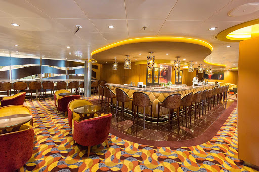 Anthem-of-the-Seas-Boleros - The Boleros nightclub on Anthem of the Seas.