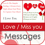 I love you & Miss you Messages icon