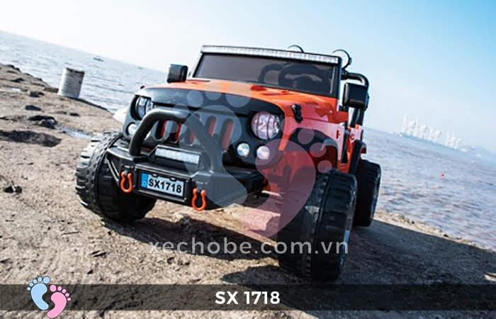 Xe ô tô điện trẻ em Jeep SX-1718 3