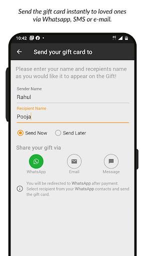 Woohoo - Digital Gift Cards  Screenshots 4