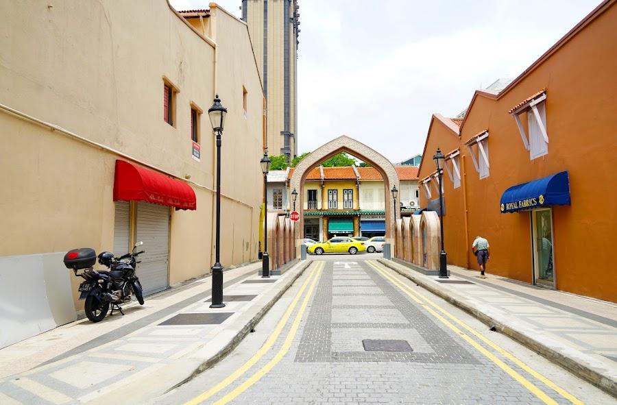 Arab Street Sidewalk by Alan Chew - City,  Street & Park  Street Scenes