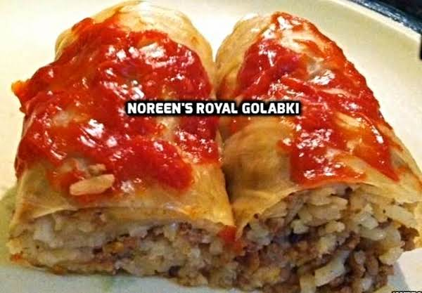 Stuffed Cabbage Rolls ( Royal Golabki) Recipe