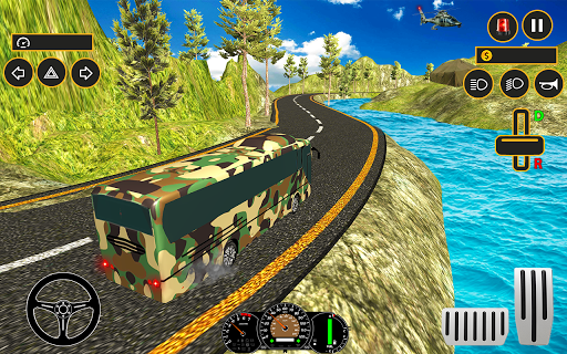 Drive Army Bus Transport Duty Us Soldier 2019 1.0 screenshots 14