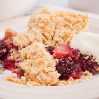 Blackberry and Apple Crumble Recipe
