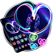 Neon Light Heart Launcher Theme Live Wallpapers Android APK Download Free By Best Launcher Theme & Wallpapers Team 2019