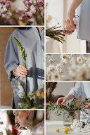 Wild Flowers Collage - Pinterest Pin item