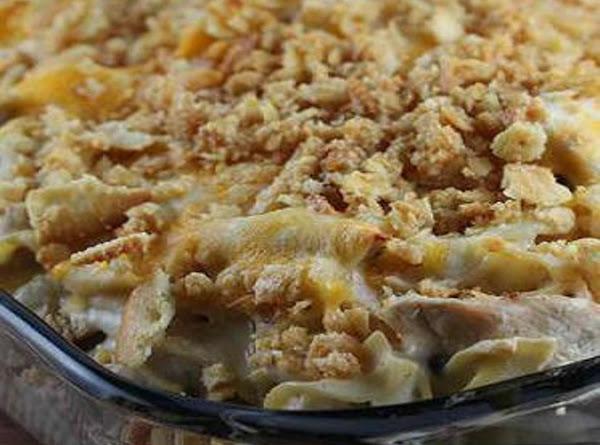 Scalloped Chicken Casserole, Grandma's Recipe
