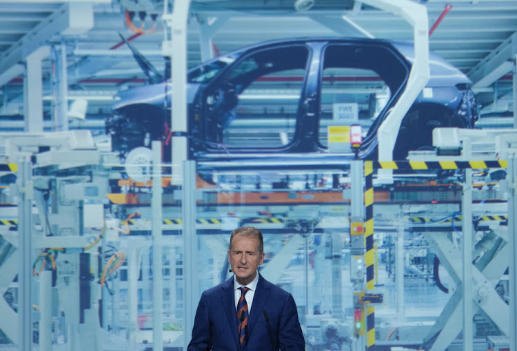 Volkswagen CEO Herbert Diess says the global chip shortage has cost the company 100,000 cars.