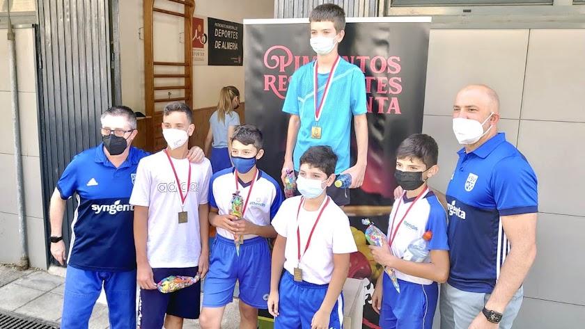 Juegos Deportivos Municipales de Lucha.