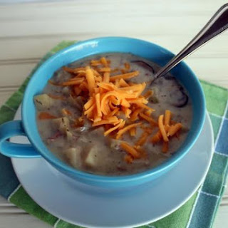 Crockpot Potato Bacon Soup