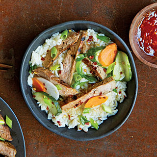 Coconut-Marinated Pork with Rice (Bai Sach Chrouk)