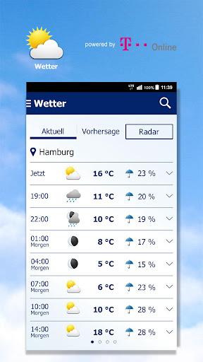 Wetter by t-online.de 1.8.5 screenshots 1