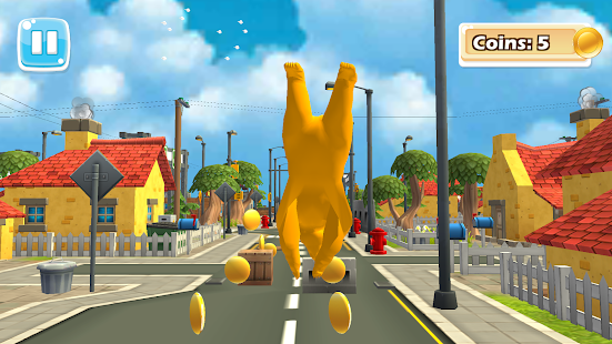 Subway Monster Bear Run Surfers - náhled