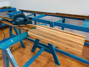 Photo: my new tool: a power planer