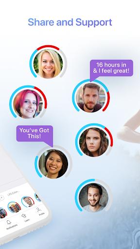 LIFE Fasting Tracker | Social Intermittent Fasting 5.0.3 screenshots 2