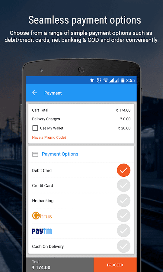 Train PNR Status & Bus Tickets- screenshot