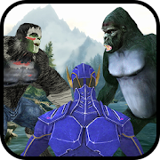 Game Incredible Light Monster Hero vs Jungle Kong Apes APK for Windows Phone