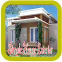 Simple House Exterior Designs icon