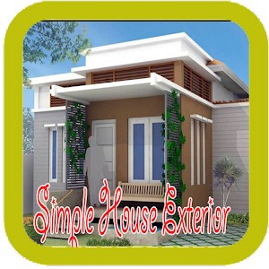 Simple house exterior designs android apps on google play for Home outside design app