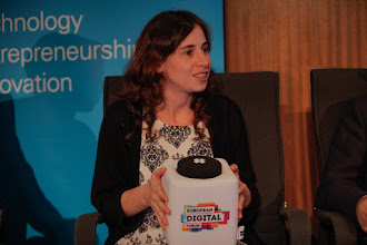Photo: Carmen Bermejo, co-author of the Spain Startup Manifesto and CEO of Tetuan Valley