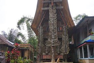 Photo: Casa tradicional toraja