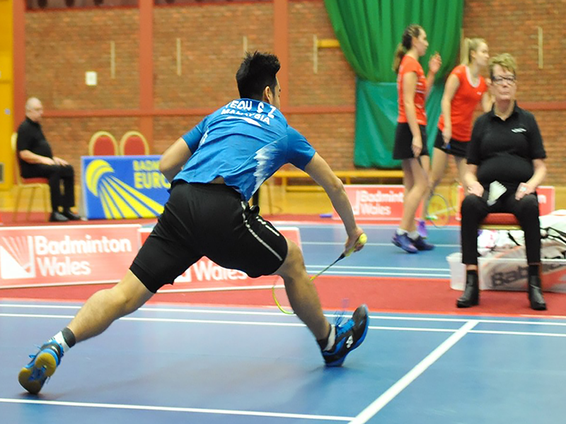 Victor Welsh International badminton championship