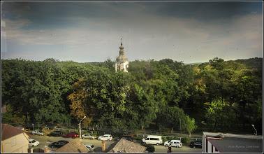 Photo: Str. Basarabiei, Nr.44, Salis Hotel - vedere panorama de la etajul 5 - 2017.08.17