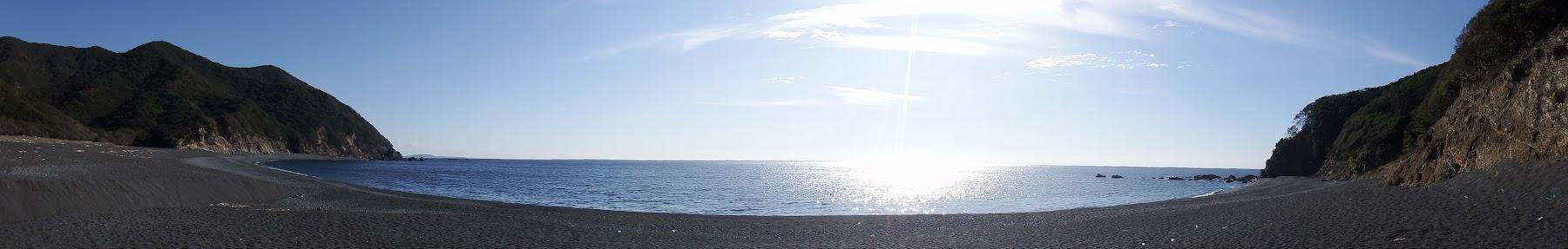 塩竈浜のパノラマ
