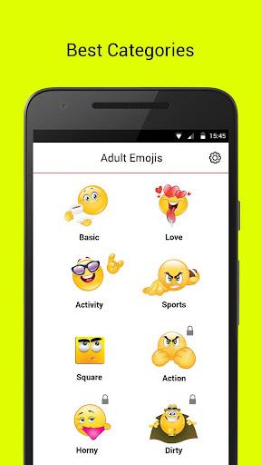 Adult Dirty Emojis 1.0 screenshots 1