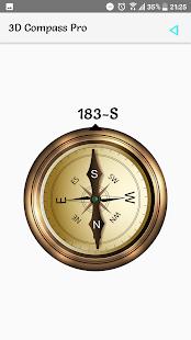 3D Compass Pro - náhled