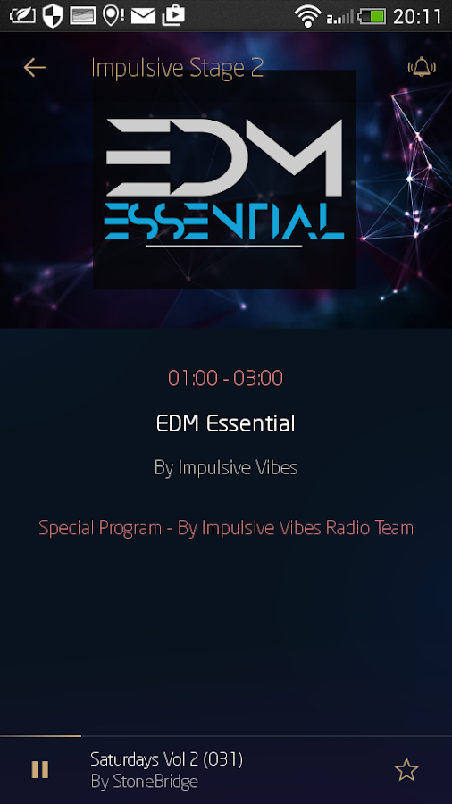 Impulsive Vibes Radio- screenshot