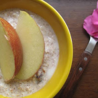 Swiss Bircher Muesli.