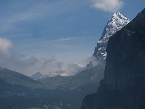 Photo: ... especially of the Eiger, and its famed north face.