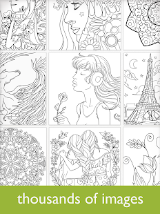 Colorfy: Coloring Book for Adults - Free Screenshot