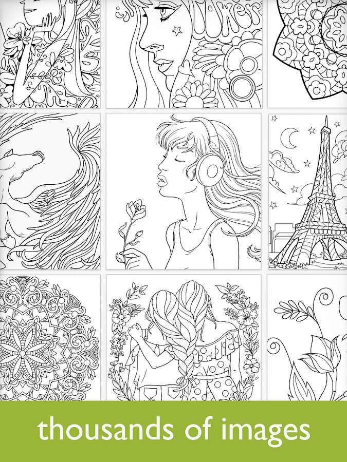 Colorfy: Coloring Book for Adults - Free- screenshot