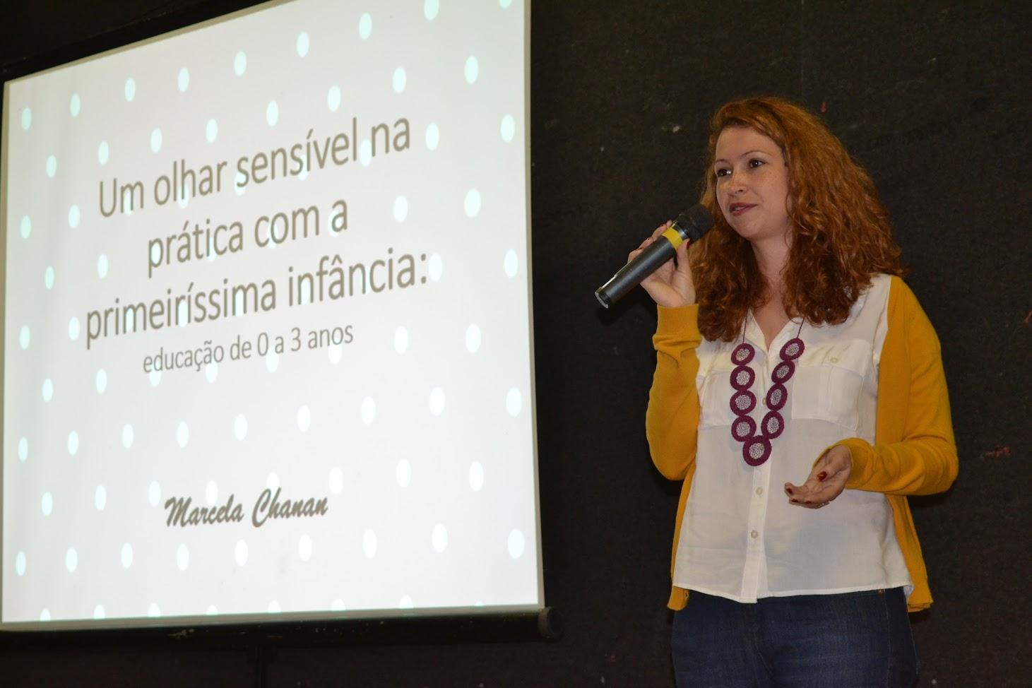 Palestra reúne educadores no Centro Cultural Valdelice