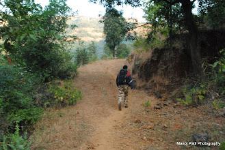 Photo: 8:00 am ....Trek Start....To our first target Chandragad....