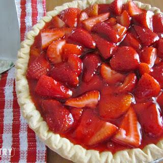 Copycat Shoney's Strawberry Pie.