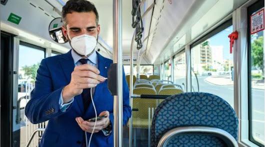 Llega el primer autobús cien por cien eléctrico que presta servicio a la ciudad