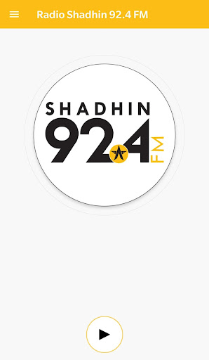 Radio Shadhin 92.4 FM  screenshots 1