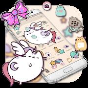 App Cute Kitty Bowknot Theme APK for Windows Phone
