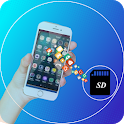 File Move Phone to SD card & Apps Share icon