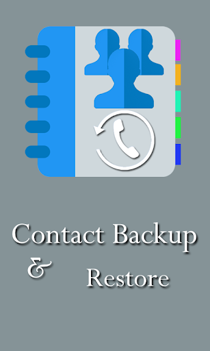 Contacts Backup Restore