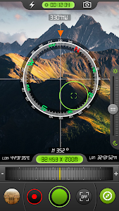 Military Binoculars/Night Mode/Compass Camera 1.6