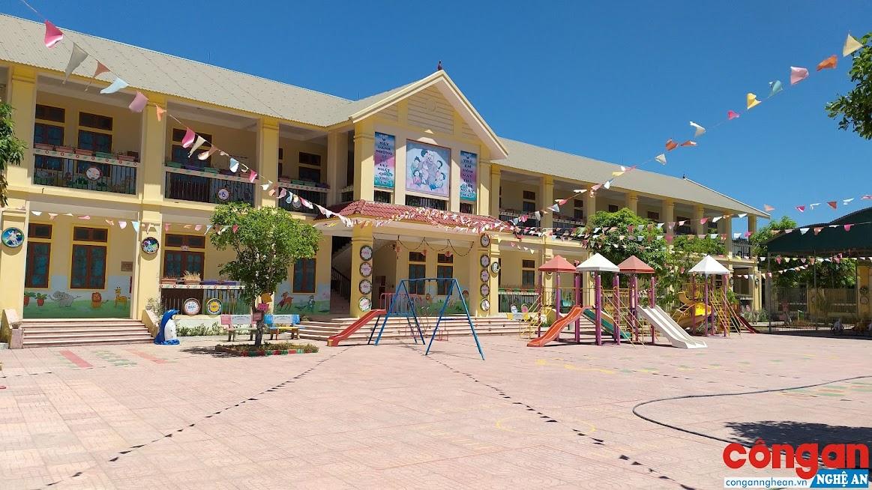 Trường Mầm non xã Tiến Thủy