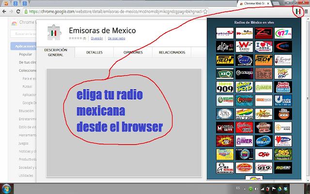 Emisoras de Mexico