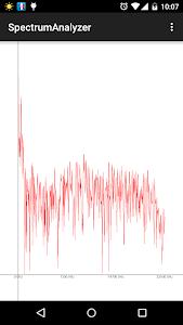 Spectrum Analyzer screenshot 0