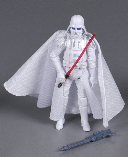 Action figure:Star Wars Legacy Blue Comic Pack: White Darth Vader