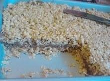 No Bake Chocolate Peanut Butter Oat Bars. Recipe