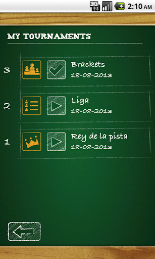 The Tournaments Manager v1.9 Android screenshots 8
